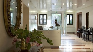 Lobby im 4-Sterne Hotel Ca´ Nigra Lagoon Resort in Venedig.