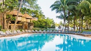 Poolanlage im 4-Sterne Canonnier Beachcomber Golf Resort und Spa auf Mauritius.