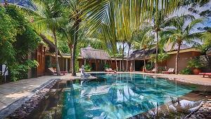 Der Spa im 6-Sterne Hotel Dinarobin Beachcomber Golf Resort und Spa auf Mauritius.
