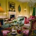 Die Lounge im im 5-Sterne Hotel Fort Willilam - Inverlochy Castle in Schottland.