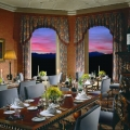 Restaurant im 5-Sterne Hotels Fort Willilam - Inverlochy Castle in Schottland.