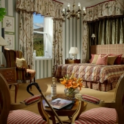 Zimmer im 5-Sterne Hotel Fort William - Inverlochy Castle.