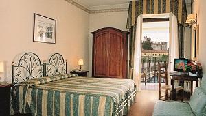 Zimmer im 3-Sterne Hotel Gardesana am Gardasee.