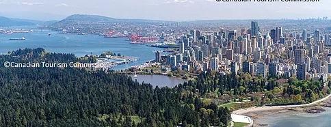 Luftaufnahme von Vancover. Copyright © Canadian Tourism Autourity.
