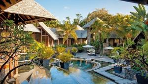 Spa Bereich im 6-Sterne Hotel Royal Palm Beachcomber Luxury auf Mauritius.