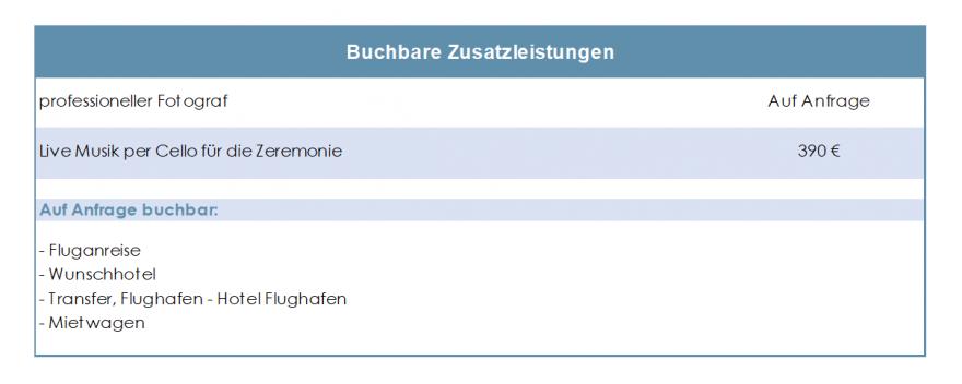 Vancover-Traupacket-Zusatzleistungen-Tabelle-2019