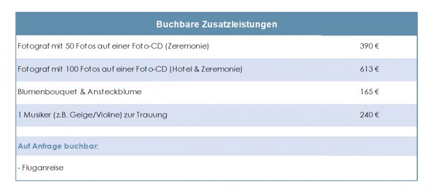 Verona-Nur-Trauung-Zusatzleistungen-Tabelle-2019