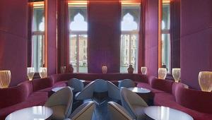 Bar im 4-Sterne Centurion Palace Hotel in Venedig.