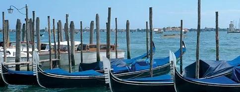 Gondeln in Venedig.