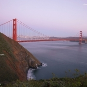 San Francisco Skyline von Marin Headlands betrachtet ©Scott Chernis Photography.