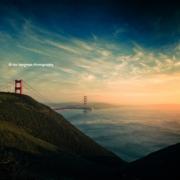 Marin Headlands und die Golden Gate Bridge ©Hal Bergman Photography